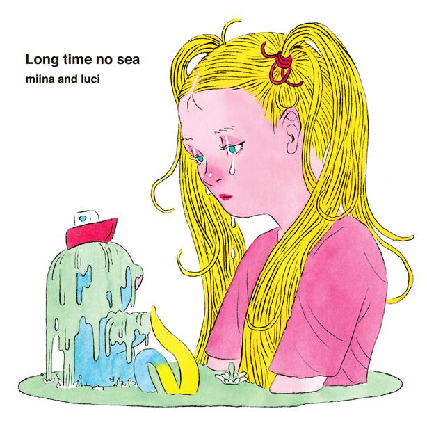 さよならポニーテールのメインヴォーカル・みぃなによるソロプロジェクト、みぃなとルーチの1stアルバム『Long time no sea』が待望のアナログ化決定!