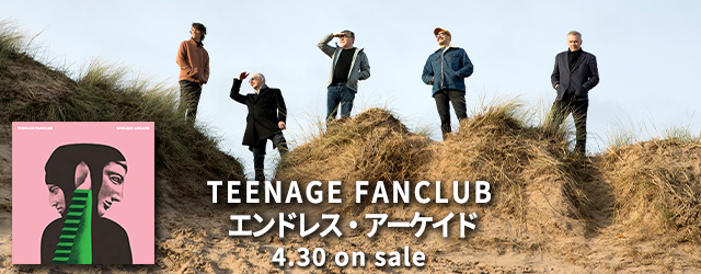 TEENAGE FANCLUB Endless Arcade