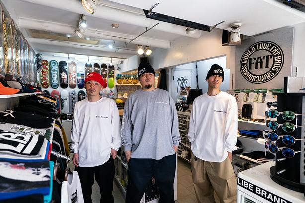 SWANKY SWIPEのロングスリーブTシャツとBESのニットキャップが完全受注生産で発売!BESと共にISSUGI、仙人掌がLookのモデルを担当!