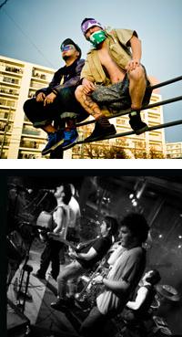 サイプレス上野とロベルト吉野 / ESNE BELTZA、「FUJI ROCK FESTIVAL '09」に出演!