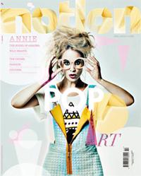 ANNIE、イギリスの音楽情報雑誌「NOTION」の表紙を飾りました!