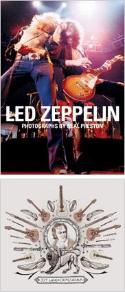 『レッド・ツェッペリン写真集』、『JEFF LANG / Chimeradour』、ミュージック・ペンクラブにて紹介!