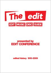 本日19:00より『THE EDIT~エディット・ミュージック・ディスク・ガイド』執筆陣がDOMMUNEに参戦!