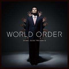 """須藤元気による音楽パフォーマンスユニット""""WORLD ORDER""""、デビュー・アルバムの特設サイトをオープン!"""