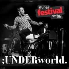 Underworld、大絶賛のiTunes Festivalライヴ音源を急遽発売!新曲と代表曲合わせて全6曲、まさに今のベストな曲目。
