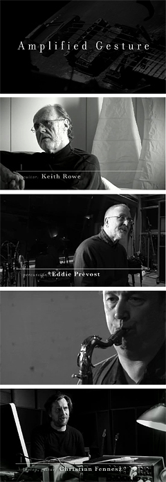 David Sylvian プロデュース映像作品『Amplified Gesture』が完成!