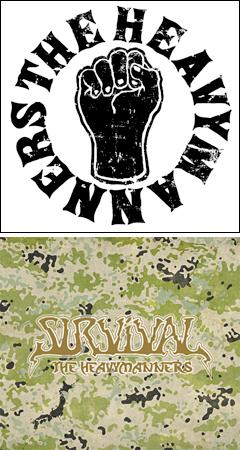 セカンドアルバム『SURVIVAL』リリースしたTHE HEAVYMANNERSのリリースパーティーにあらかじめ決められた恋人たちへも参加決定!