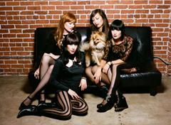 DUM DUM GIRLS 「ALWAYS LOOKING」、HELLO FIVE(FM石川)9月度「MUSIC NEXUS」に決定!