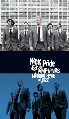 5月に日本デビューを果たしたイギリス出身のイケメン・ジャズ・セクステット、NICK PRIDE & THE PIMPTONESの最新ミュージック・ビデオが登場!!