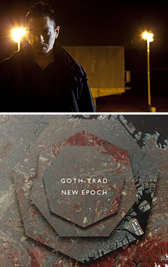 1月11日に新作アルバムをリリースするGOTH-TRAD。ジャイルス・ピーターソンによるインタビューが、英国BBCにてジャイルスのラジオ・ドキュメンタリーで放送されました!!