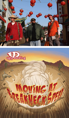 サイッコーにゴキゲンなヒップホップ・クルー、アグリー・ダックリングの新作アルバム『Moving At Breakneck Speed』から「Elevation」のPVが公開開始!!