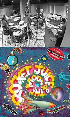 噂のバンドが遂にベールを脱ぐ!ブラー、ゴリラズのデーモン、レッチリのフリー、アフロ・ビートを作ったドラマー、トニー・アレンとタッグを組んだその名もロケット・ジュース・アンド・ザ・ムーン本日発売!!