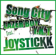 "JOYSTICKKの連続シングル・リリース第2弾""Song City"" feat. LAZER BOY & Y.K.Tが本日解禁!"