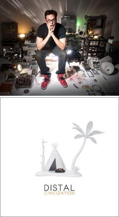 これはダブステップ発、ダーティーハウス経由のTHUG-STEP(サグ・ステップ)だ!! TectonicのPinchが絶賛する若き才能DISTALのデビューアルバムが本日発売!!
