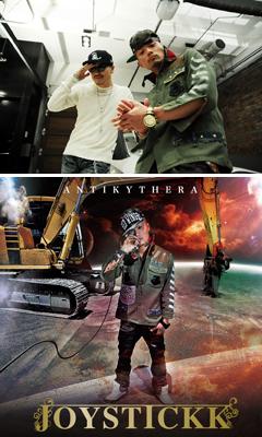 "JOYSTICKKの最新作『ANTIKYTHERA』から、AK-69をフィーチャーしたリード曲""Krazie Klub""のPVがyoutubeにて公開!"