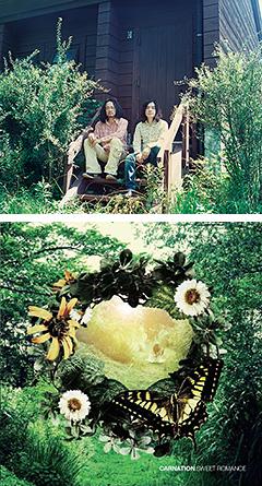 カーネーション15th ALBUM 『SWEET ROMANCE』9/19発売決定!