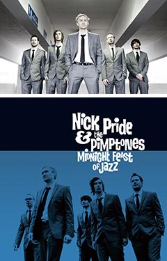 超イキのいいスパイ・ジャズ・セクステット、NICK PRIDE & THE PIMPTONESの最新PVが公開開始!!