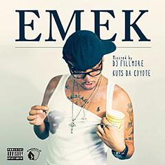 KUTS DA COYOTEの初となる音源集『EMEK : mixxxed by DJ FILLMORE』のリリースが決定!