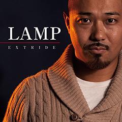 EXTRIDEの4年ぶりとなる自己名義のニュー・アルバム『LAMP』のトラックリスト、ジャケットが決定!
