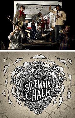 タップダンサーまで擁するヒップホップバンド、SIDEWALK CHALK。1/9に発売されたアルバムから「Birds of a Feather」のミュージックビデオが公開開始!