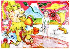 2月1日(金)~2月24日(日)蛭子能収・根本敬展覧会「自由自在(蛭子能収)と 臨機応変(根本敬)の勝敗なき勝負」展開催!