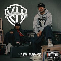 シーン最高峰の巧者MC、KGE The Shadowmenと実力派トラックメイカー、HIMUKI のコラボ・アルバム第2弾『2nd Impact』!ジャケとトラックリストが決定!