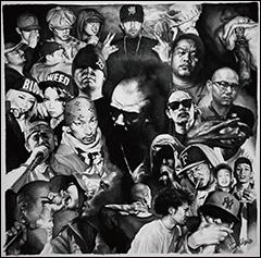 NORIKIYO & BRON-K、Fla$hBackSの参加も決定!東京アンダーグラウンド・ヒップホップ界の最重要人物ONE-LAWの初となるオリジナル・アルバム、トラックリストとジャケットが決定!