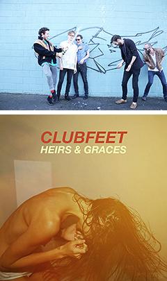 PVも話題沸騰の極上メロディーメーカー集団、CLUBFEETの新作アルバムが3月2日(土)一部店舗で先行販売開始!