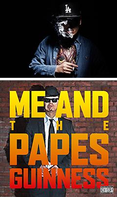 シーン屈指の実力者GUINNESSが真のヘッズに送る待望のデビュー・アルバム『ME AND THE PAPES』、ついに本日リリース!