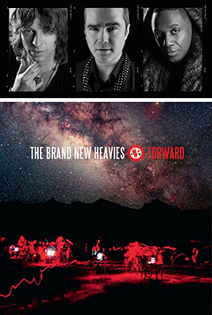 待望の新作アルバム『Forward』をリリースし、来日公演を間近に控えたTHE BRAND NEW HEAVIESの最新インタビューがbmr.jpにて公開中!!