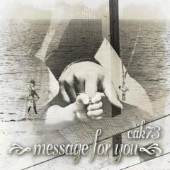 """新潟のフッド・スター・ラッパー、cak73の新曲""""Message For You""""、本日より配信開始!"""