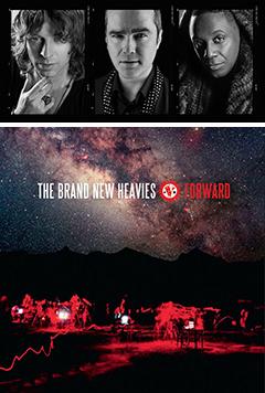 新作アルバム『Forward』も大好評、先日の来日公演も素晴らしかったTHE BRAND NEW HEAVIESの再来日公演が決定!!
