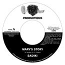 SADIKI「Mary's Story c/w Girlfriend feat. DELLY RANX」