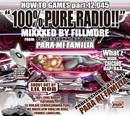 DJフィルモア「100% Pure Radio!! : Mixxxed by FILLMORE」